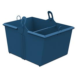 Распашной контейнер для производственных отходов