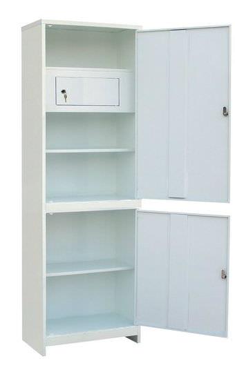 Шкаф медицинский одностворчатый (ШММ-1-Т) ШММ-1 с трейзером, фото 2