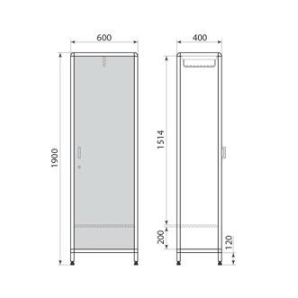 Медицинский шкаф ДМ-1-001-30, фото 2