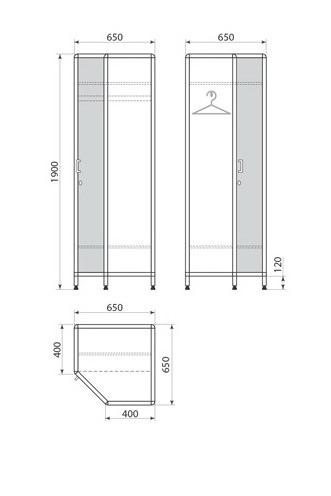 Медицинский шкаф ДМ-1-001-31, фото 2