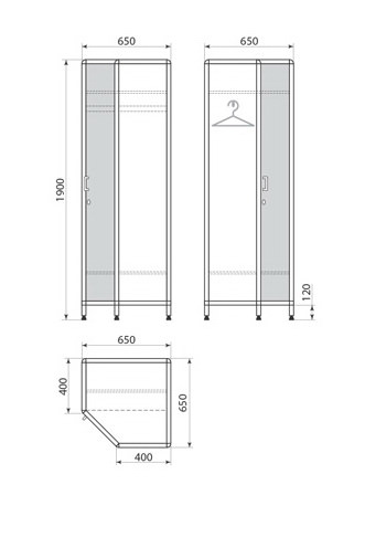 Медицинский шкаф ДМ-2-001-31, фото 2