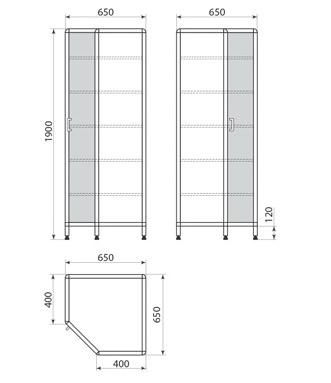 Медицинский шкаф ДМ-1-001-32, фото 2
