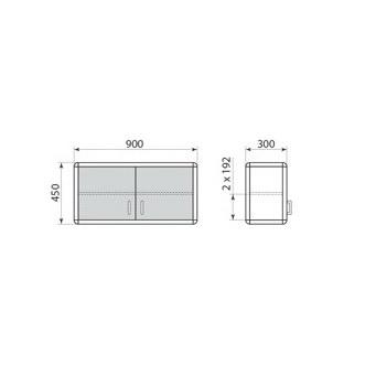 Шкаф навесной ДМ-1-002-02, фото 2