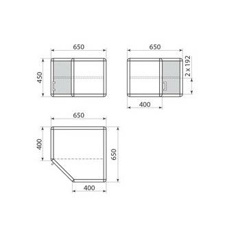 Шкаф навесной ДМ-1-002-05, фото 2