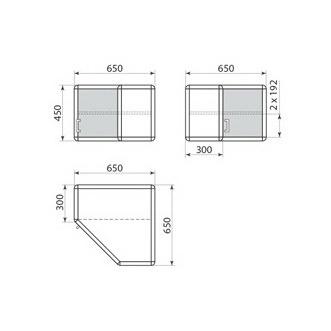 Шкаф навесной ДМ-1-002-06, фото 2
