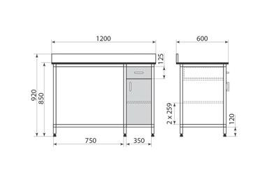 Стол ДМ-2-006-20, фото 2