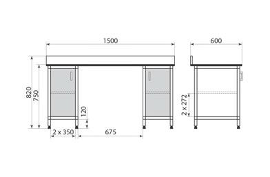 Стол ДМ-2-006-23, фото 2