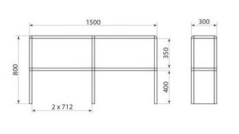 Надставка для стола ДМ-1-013-03, фото 2
