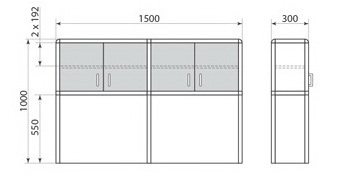 Надставка для стола ДМ-2-013-11, фото 2