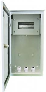 Щит распределительно-учетный герметичный легкий ОЩРУгл-1Н-6зс