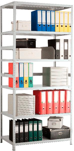 Стеллаж MS Standart 220/100х30/6 (6 полок)