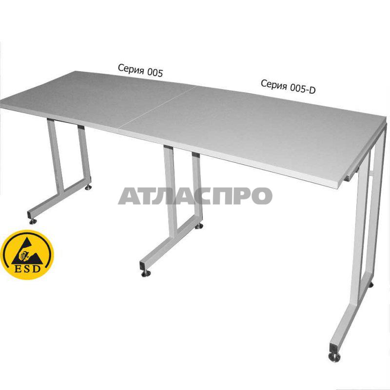 Стол С5-1500*750 Д ESD, фото 2