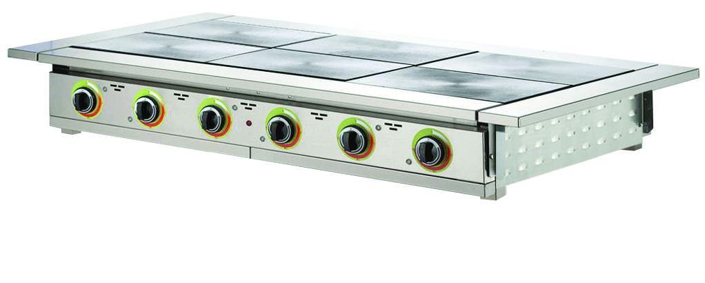 Плита электрическая шестиконфорочная настольная ЭП6Н