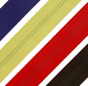 Лента текстильная 75мм 9750кг желтый