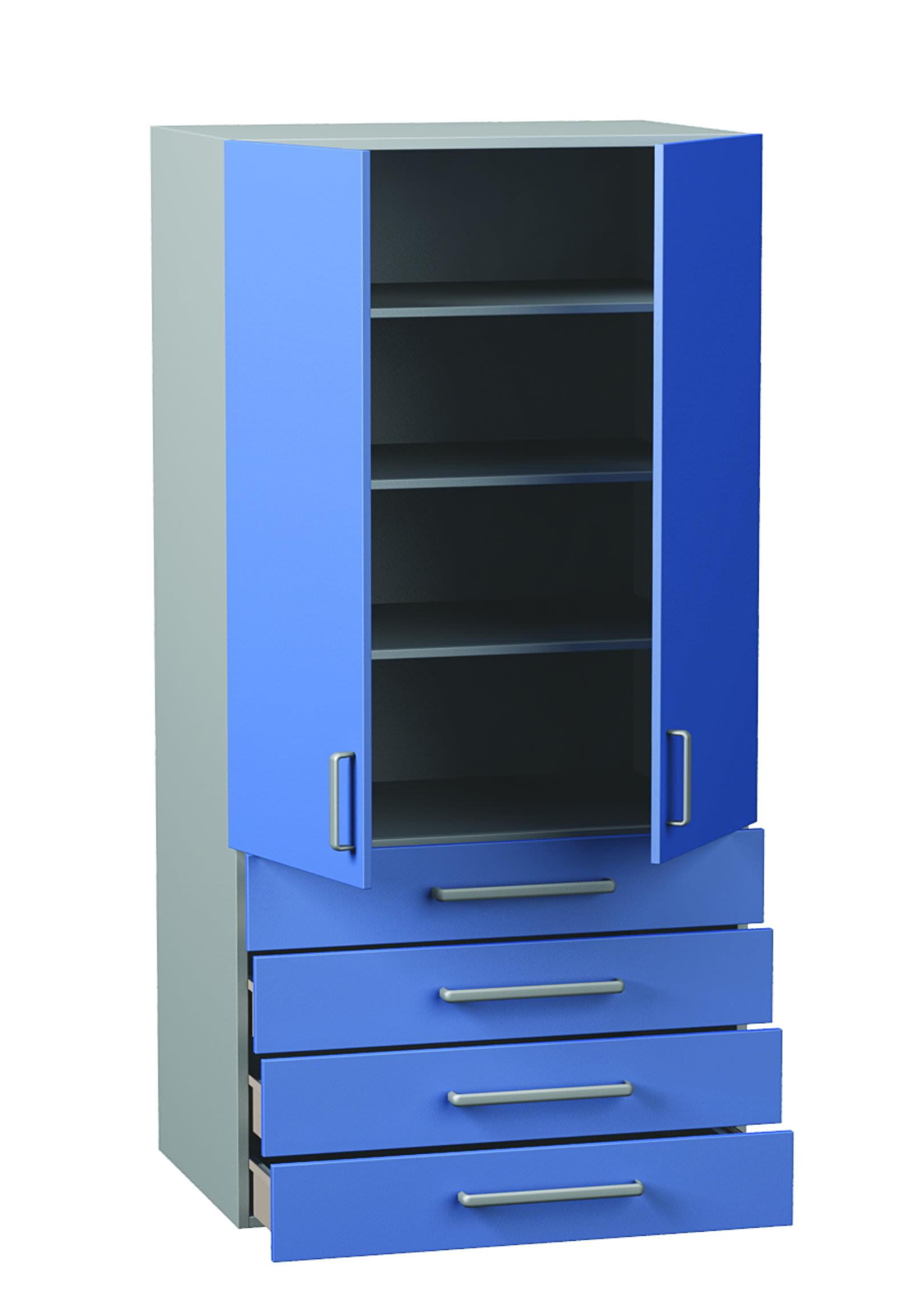 Медицинский Шкаф для одежды ДМ-4-001-32