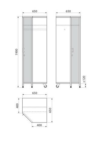Медицинский шкаф ДМ-3-001-31, фото 2