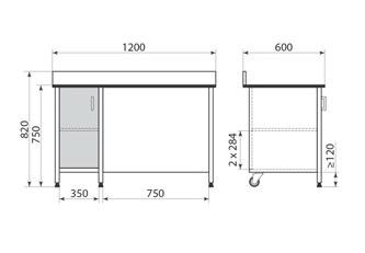 Стол ДМ-3-006-11, фото 2