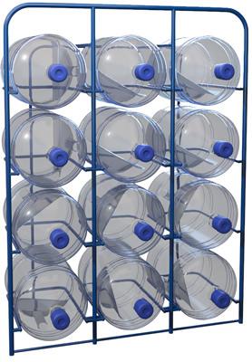 Стелаж для бутылей с водой СВД-12