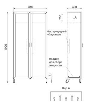 Шкаф для хранения эндоскопов ДМ-6-001-17, фото 2