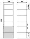 Медицинский шкаф ДМ-4-001-11, фото 2