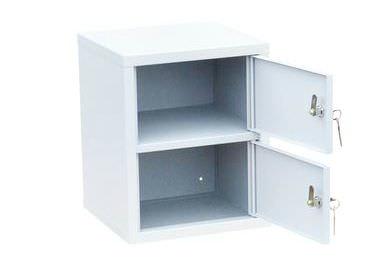 Индивидуальный шкаф кассира на 2 отделения вертикальный (навесной), фото 2