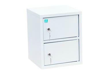 Индивидуальный шкаф кассира на 2 отделения вертикальный (навесной)