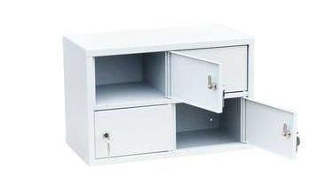 Индивидуальный шкаф кассира на 4 отделения (навесной), фото 2