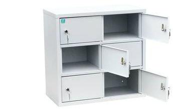 Индивидуальный шкаф кассира на 6 отделения (навесной), фото 2