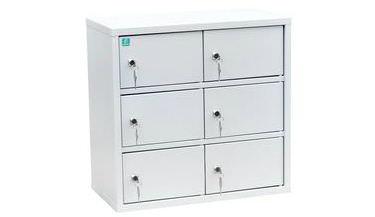Индивидуальный шкаф кассира на 6 отделения (навесной)
