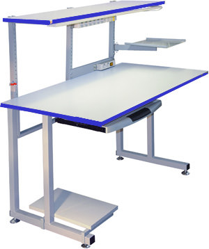 К1 ESD Рабочий стол антистатический для инженера (комплект опции)
