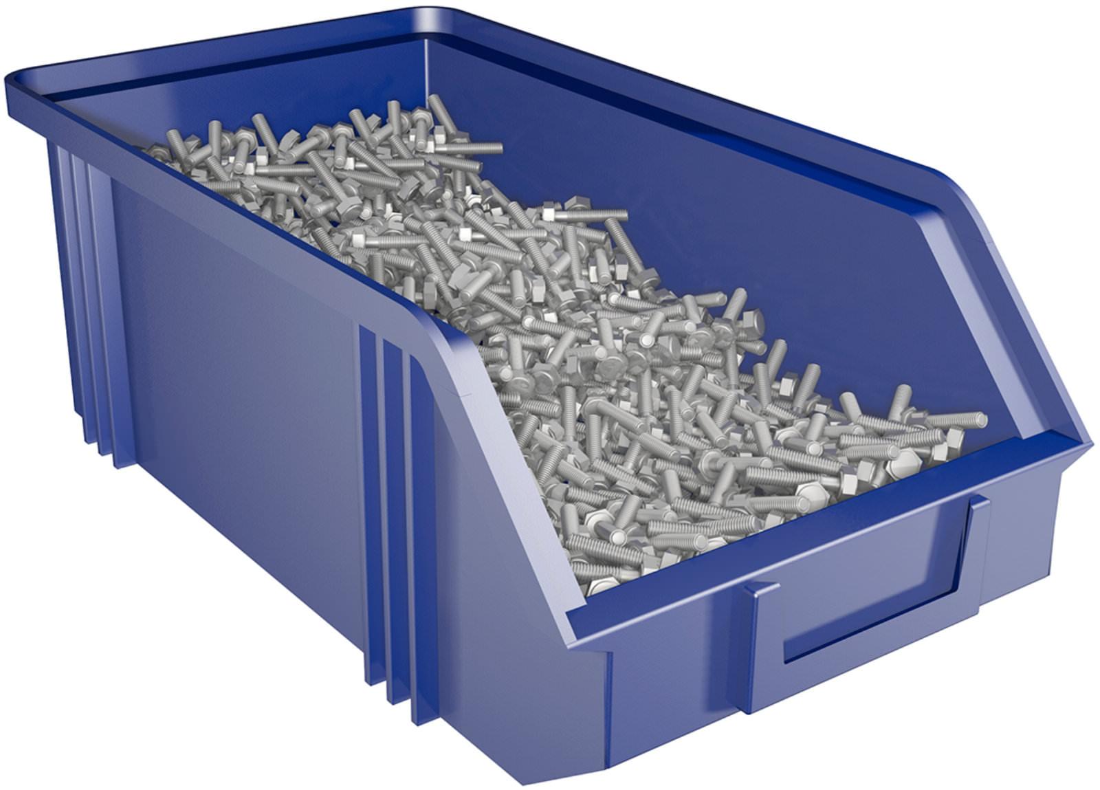 Ящик большой - аксессуары и комплектующие - производственная.
