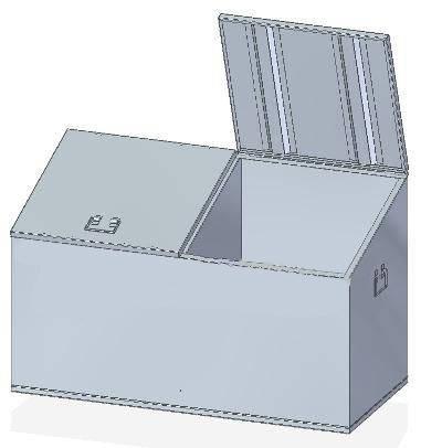 Контейнер для промасленной ветоши МКв-2-110