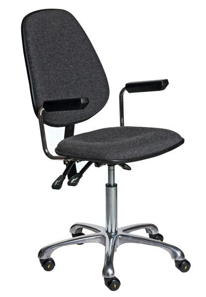 Антистатический стул NVR N-200/KJ260 ESD