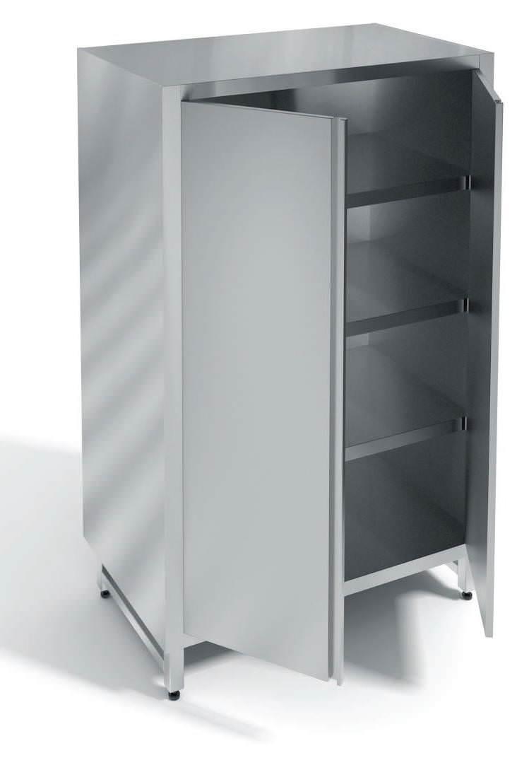 Шкаф закрытый неразборный с дверьми распашными ШкР