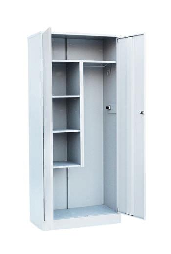 Шкаф для хозинвентаря двухстворчатый, фото 2
