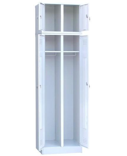 Шкаф для одежды двухстворчатый с антресолью, фото 2