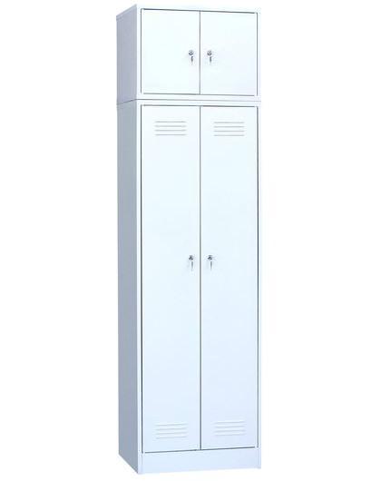Шкаф для одежды двухстворчатый с антресолью