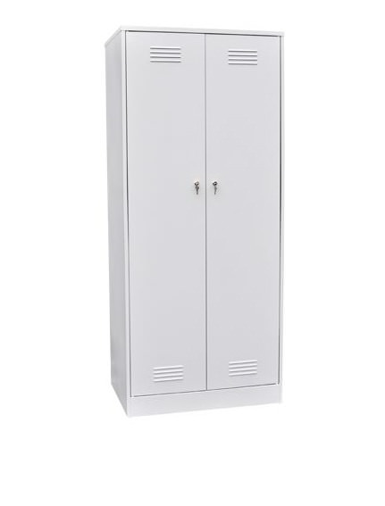 Шкаф для одежды двухстворчатый с откидной скамьей (верх липа), фото 3