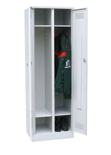 Шкаф для одежды двухстворчатый с полкой под обувь, фото 2