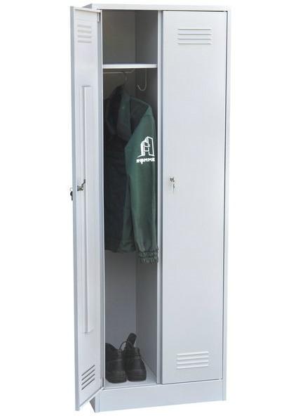 Шкаф для одежды двухстворчатый сварной, фото 3