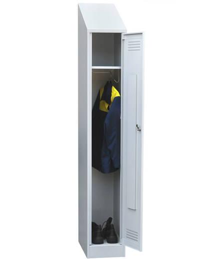 Шкаф для одежды одностворчатый с наклонной крышей, фото 2