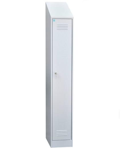 Шкаф для одежды одностворчатый с наклонной крышей