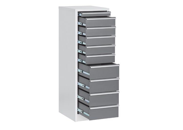 Драйвер-шкаф с 10-ю ящиками